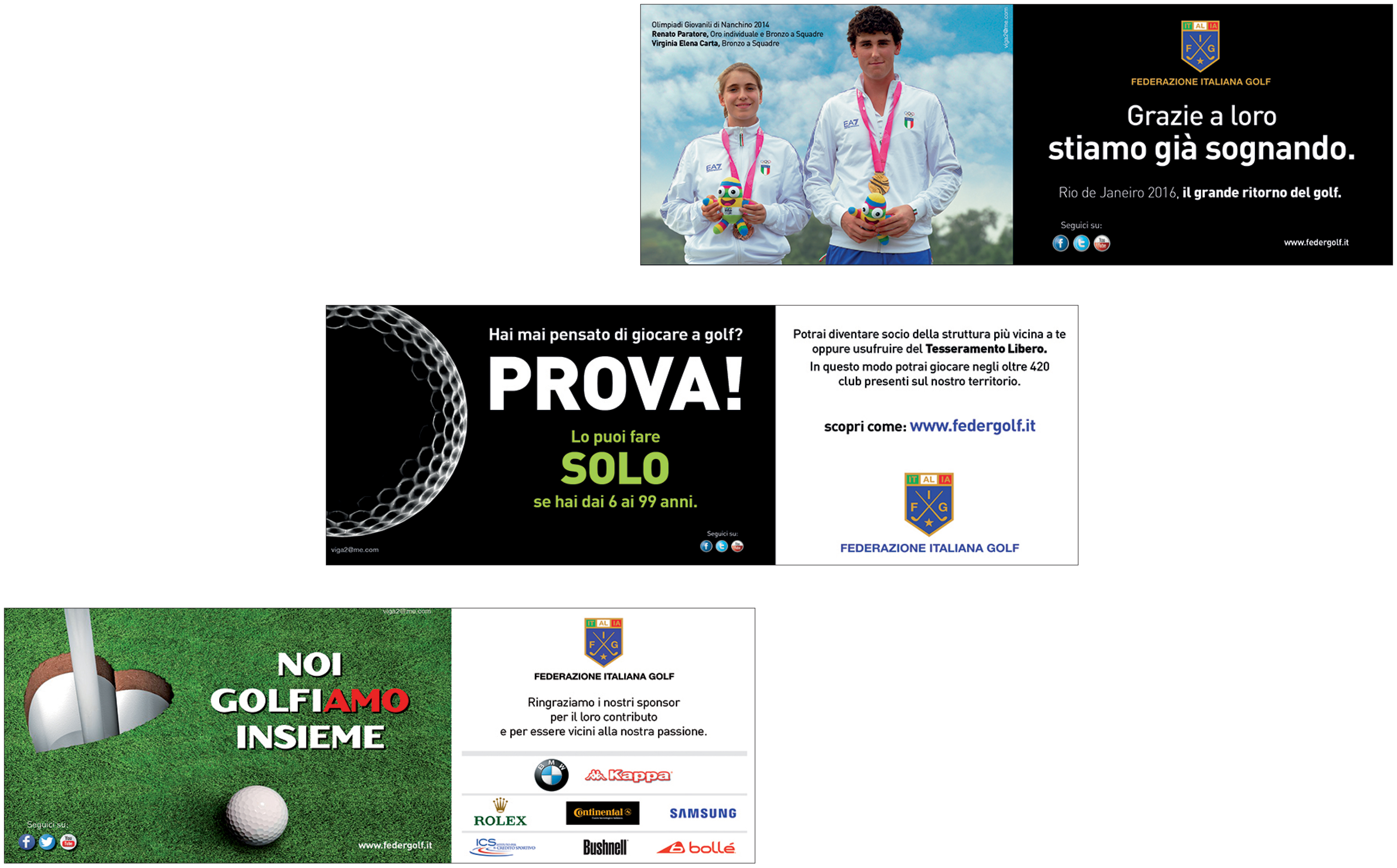 Federazione Italiana Golf, Federgolf, Golf, FIG, piedoni Gazzetta dello Sport, quotidiano