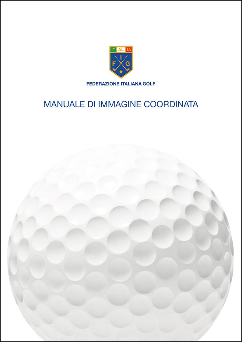 Federazione Italiana Golf, Federgolf, Golf, FIG,Manuale di immagine coordinata