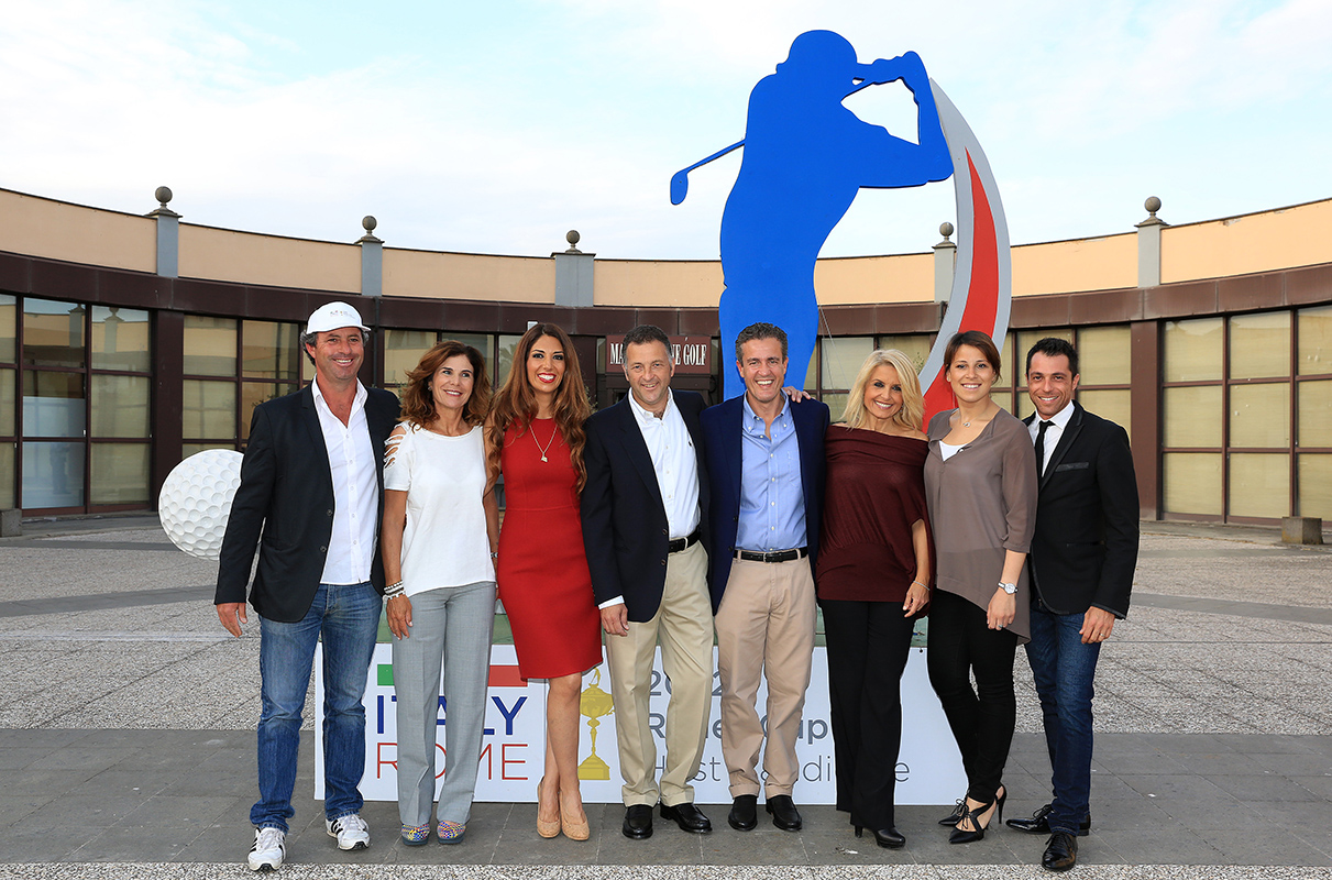 Mario Mele & Partner Premiazione Ryder Cup Biagiotti 2